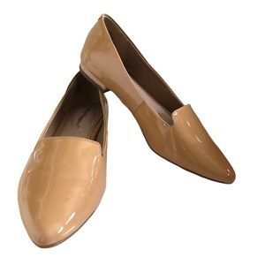 "Hush Puppies ""Tami"" Nude Leather Loafers New Sz 6"